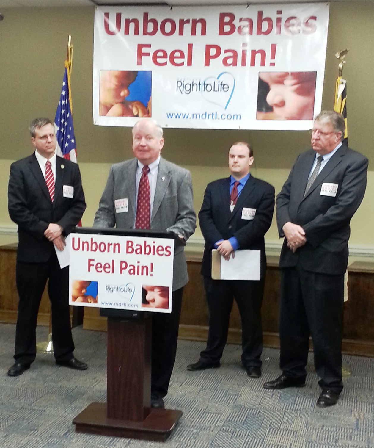 Fetal Pain Bill Press Conference Tomorrow in Annapolis